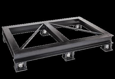 Steel Dunnage Platforms Vibration Mounts Amp Isolators