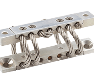 Model HCWR Jack-up Wire Rope Floor Isolator, Architectural Non-Seismic