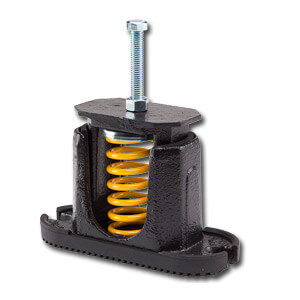 Steel Spring Mount Vibration Isolatora